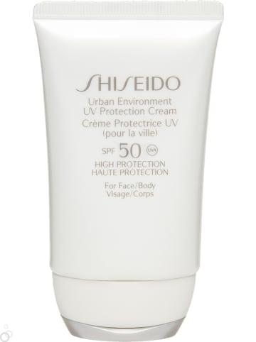 "Shiseido Zonnebrandcrème ""Urban Environment"" - SPF 50, 50 ml"