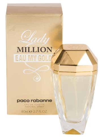 Paco Rabanne Lady Million Eau My Gold - EdT, 80 ml