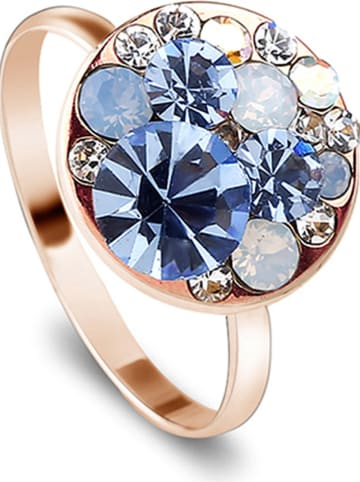 Park Avenue Pozłacany pierścionek z kryształami Swarovski