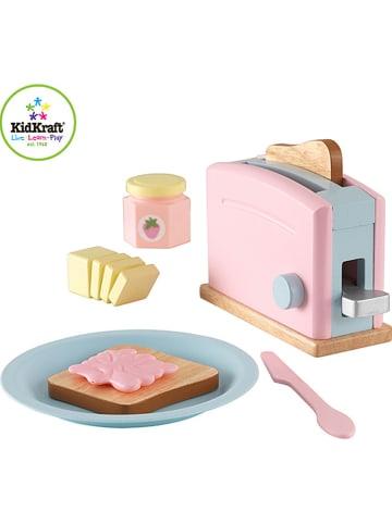"""KidKraft 8tlg. Spiel-Toasterset """"Pastel"""" - ab 3 Jahren"""