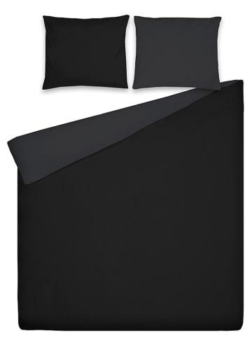 Ten Cate Pościel perkalowa w kolorze czarno-grafitowym