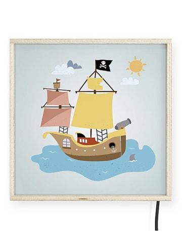 "The Wild Hug Decoratieve ledlamp ""Pirate"" meerkleurig - (B)30 x (H)30 cm"