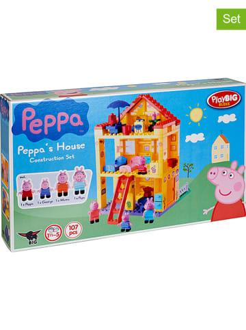 """Peppa Pig 107-delige bouwstenenset """"Peppas Huis"""" - vanaf 18 maanden"""