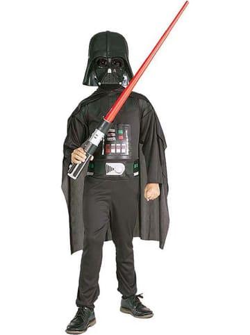"""Rubie`s 4-częściowy kostium """"Darth Vader"""" w kolorze antracytowym"""
