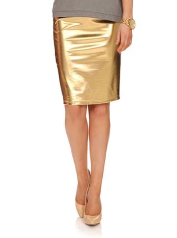 Yuliya Babich Spódnica w kolorze złotym