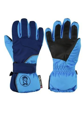 "Trollkids Functionele handschoenen ""Troll"" donkerblauw/lichtblauw"