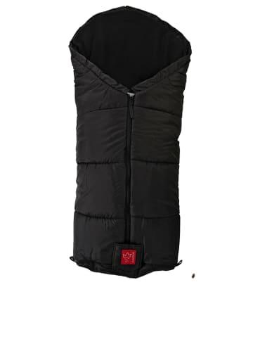 """Kaiser Naturfellprodukte Thermo-voetenzak """"Tommy"""" zwart - (L)100 x (B)45 cm"""