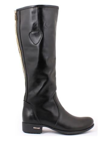 Zapato Leren laarzen zwart