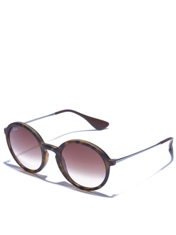 Ray Ban Unisex-Sonnenbrille in Anthrazit/ Braun
