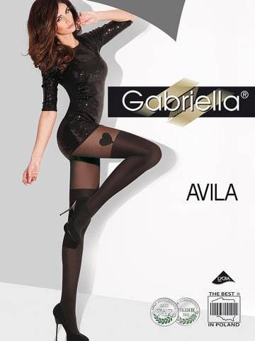"Gabriella Strumpfhose ""Avila"" in Schwarz - 40 DEN"