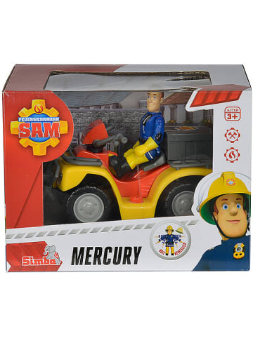 "Feuerwehrmann Sam Quad ""Mercury"" z figurką - 3+"