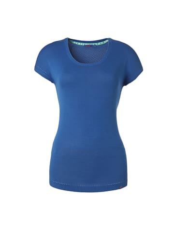 "Flip Flop Shirt ""Carmen"" in Blau"