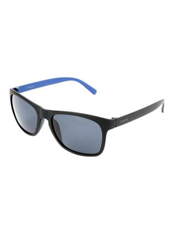 """Polaroid Okulary przeciwsłoneczne """"3009/S"""" w kolorze czarno-niebieskim"""