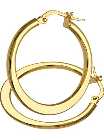 Diamant Exquis Złote kolczyki-kreole