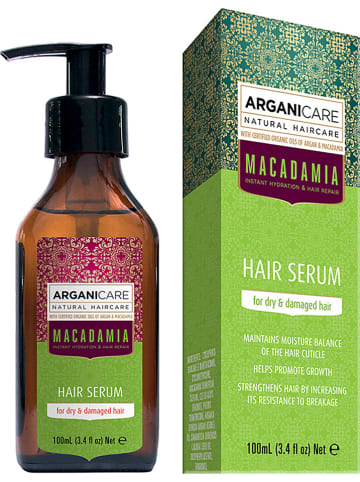 "Argani Care Haarserum ""Macadamia Oil - für trockenes Haar"", 100 ml"