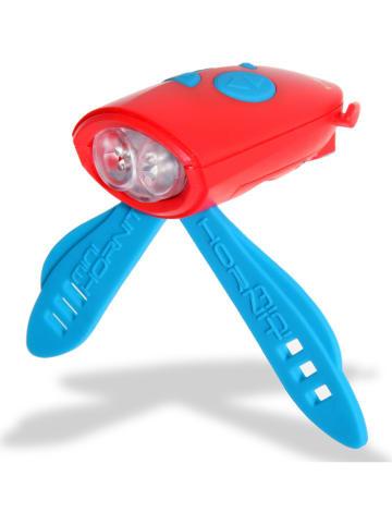 MINI HORNIT KIDS Dzwonek-lampka w kolorze czerwono-niebieskim
