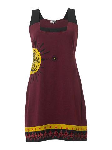 KÉAWA Sukienka w kolorze bordowym