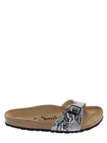 Sunbay Slippers bruin/beige