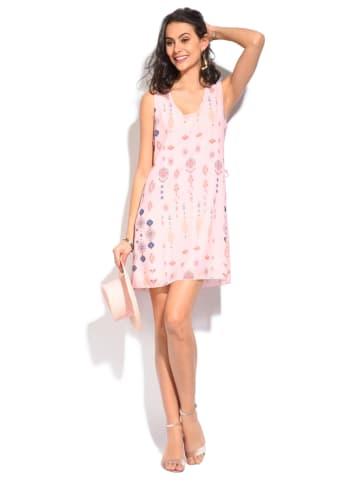 ASSUILI ASSUILI Kurze Kleider (Mini)  in rosa_bunt
