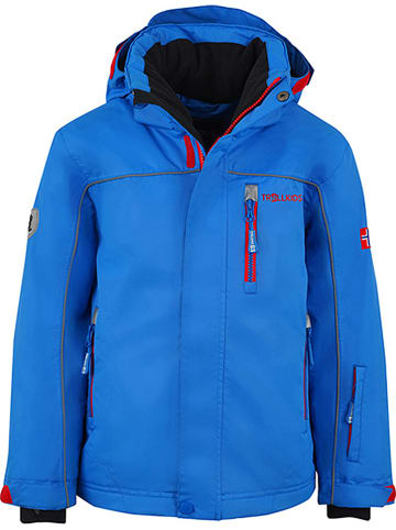 "Trollkids Kurtka narciarska ""Holmenkollen XT"" w kolorze niebieskim"
