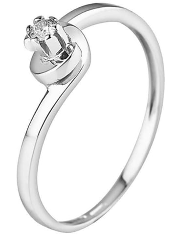 DYAMANT Silber-Ring mit Diamant