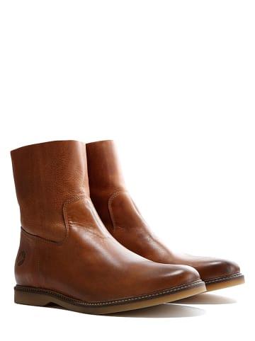 "TRAVELIN' Leder-Boots ""Marseille"" in Cognac"