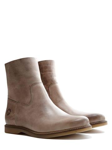 "TRAVELIN' Leren boots ""Marseille"" taupe"