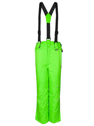 "Trollkids Ski-/ Snowboardhose ""Holmenkollen Slim Fit"" in Grün"