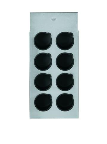 Rösle Gewürzbord in Silber/ Schwarz - (B)15,5 x (H)34 x (T)3,5 cm