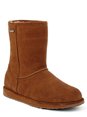 """EMU Leren boots """"Paterson"""" lichtbruin"""