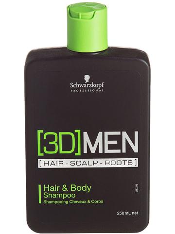 "Schwarzkopf Professional Haar- en lichaamshampoo ""Hair & Body"", 250 ml"