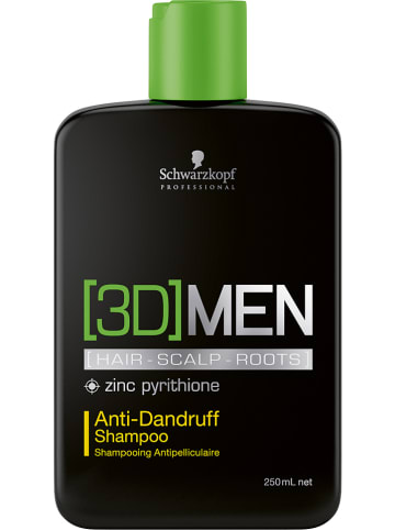 "Schwarzkopf Professional Antischuppen Shampoo ""3DMen"", 250 ml"