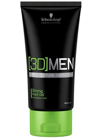 "Schwarzkopf Professional Stylinggel ""3D Men Strong"" - 150 ml"
