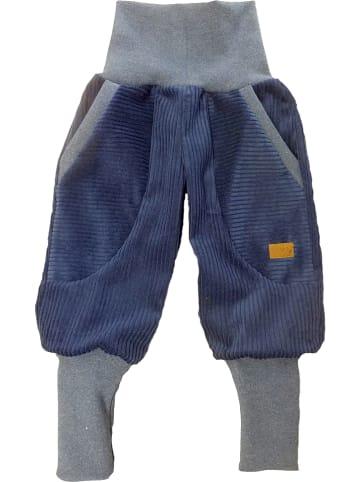 """LiVi Corduroy broek """"Streetsyle"""" donkerblauw"""