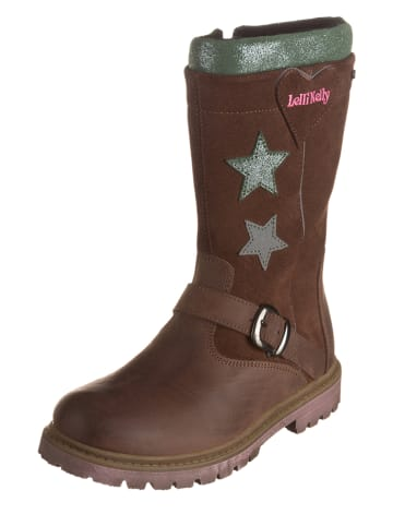Lelli Kelly Leren laarzen bruin