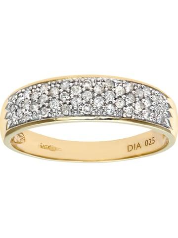 Revoni Złoty pieścionek z diamentami