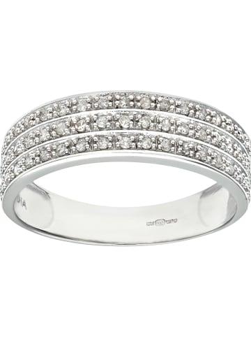 Diamant Exquis Weißgold-Ring mit Diamanten