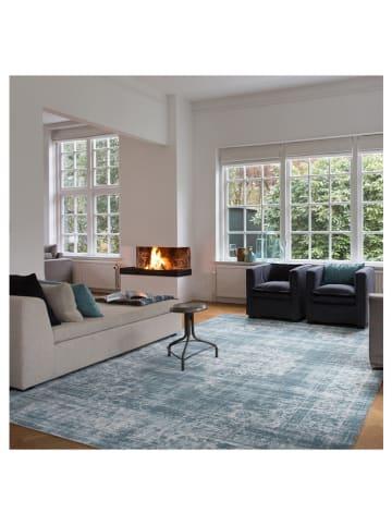 "Lifa Living Laagpolig tapijt ""Cool Vintage"" lichtblauw"