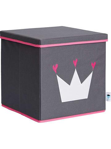 STORE IT Ordnungsbox  in Grau/ Pink - (B)33 x (H)33 x (T)33 cm