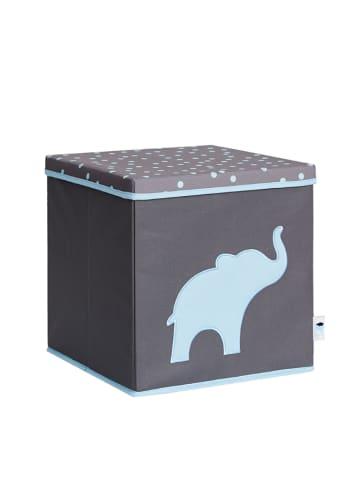 STORE IT Pudełko w kolorze szaro-błękitnym - 33 x 33 x 33 cm