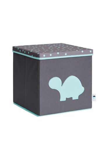 STORE IT Pudełko w kolorze szaro-turkusowym - 33 x 33 x 33 cm