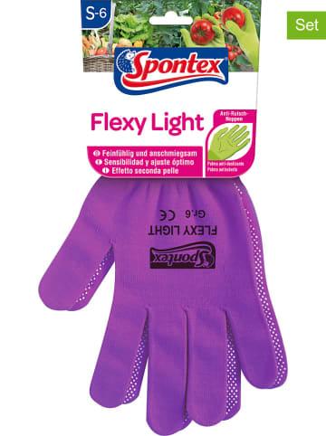 """Spontex 6-delige set: tuinhandschoenen """"Flexi Light"""" (verrassingsproduct)"""