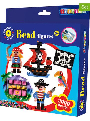 """Playbox 2.002-delige strijkkralenset """"Piraat"""" - vanaf 5 jaar"""
