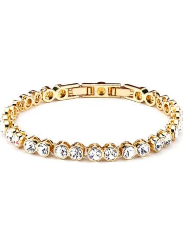 Park Avenue Vergold. Armkette mit Swarovski Kristallen