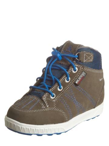 """Kamik Leren sneakers """"Wheele"""" lichtbruin"""