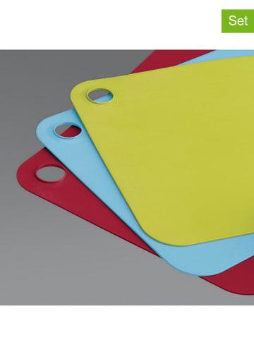 JosephJoseph 3-delige set: snijplanken meerkleurig - (L)34 x (B)24 cm