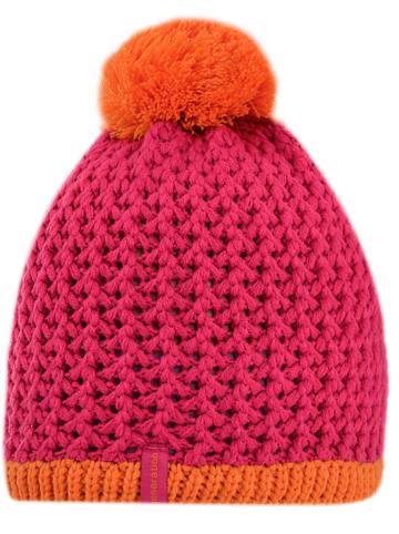 D-generation Strickmütze in Pink/ Orange