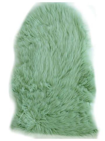 """Nazar Langpolig tapijt """"Cocooning"""" groen"""