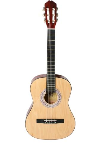 WS musique Gitara akustyczna w kolorze naturalnego drewna - dł. 92 cm