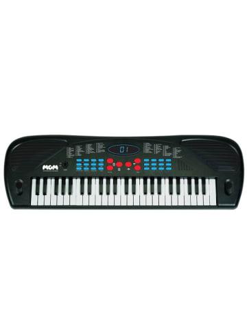 WS musique Keyboard w kolorze czarnym z mikrofonem - szer. 67 cm